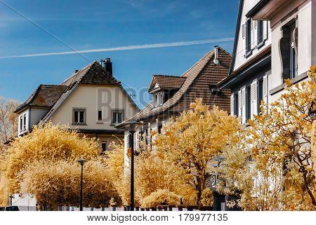 Street Of Strasbourg, Infre Red View