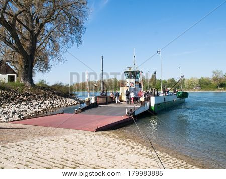 Ferry To Transport Vehicles And People
