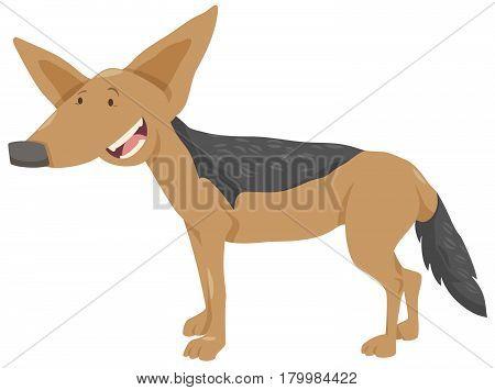 Jackal Cartoon Animal Character