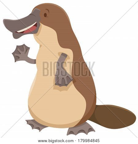 Platypus Animal Character