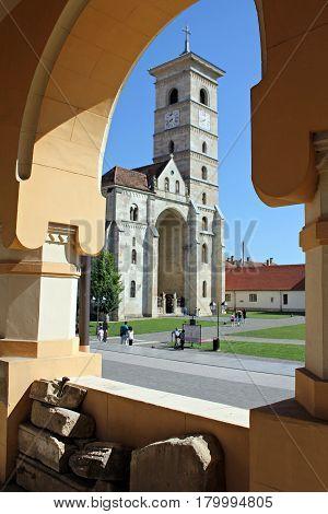 Catholic Cathedral in Alba Iulia, Alba County, Romania