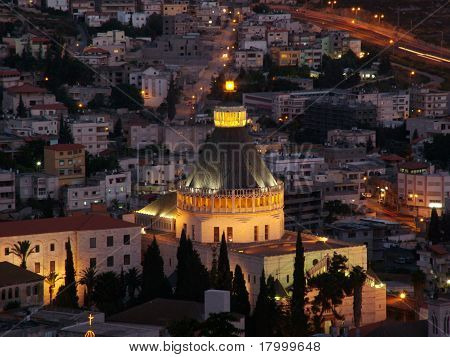 The Holy City of Nazareth in Lower Galilee, Israel.
