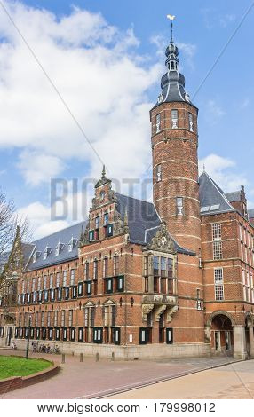 Provincial government building in the center of Groningen Netherlands