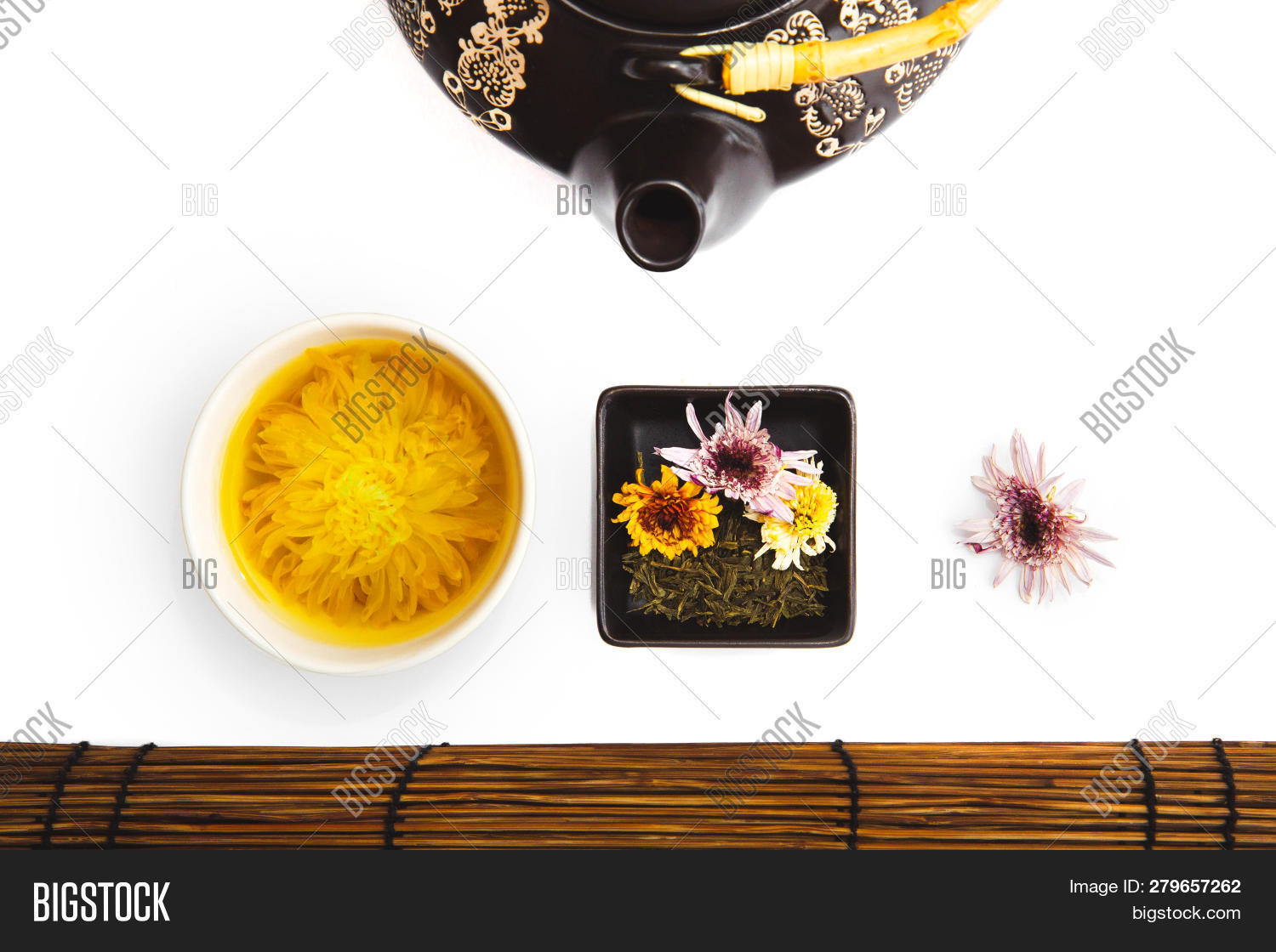 Tea Ceremony On White Image Photo Free Trial Bigstock
