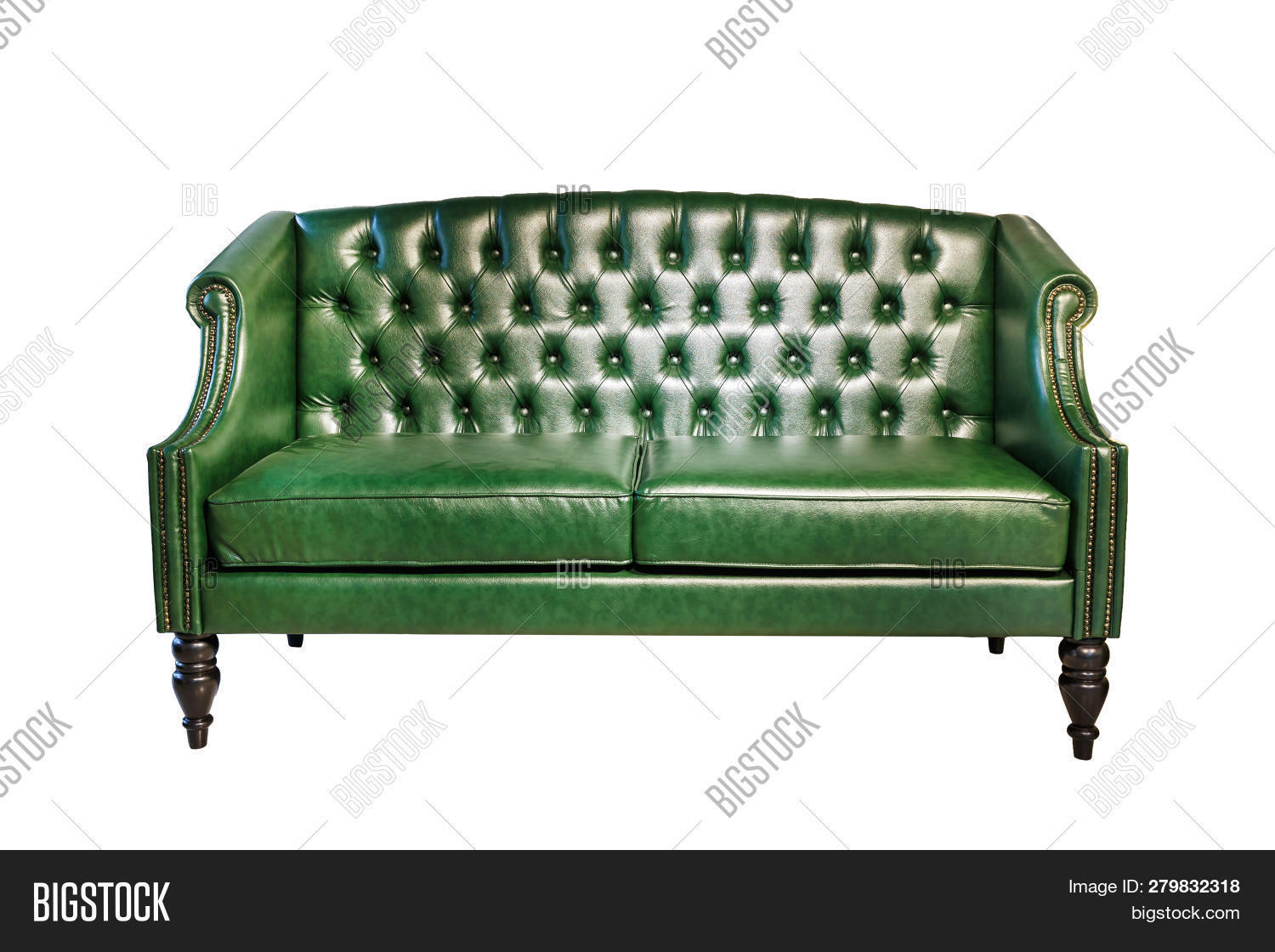 Dark Green Leather Image Photo Free