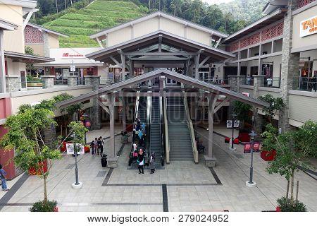 Genting Highlands, Malaysia- Dec 03, 2018: Genting Highlands Premium Outlets In Genting Highlands, M