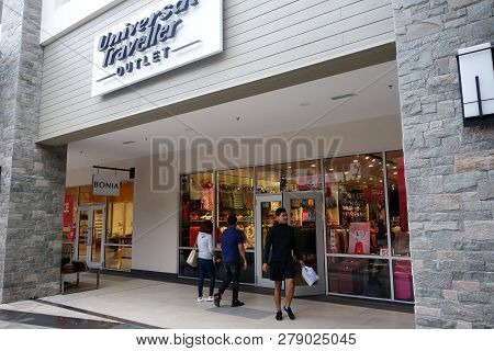 Genting Highlands, Malaysia- Dec 03, 2018: Universal Traveller Store In Genting Highlands, Malaysia.