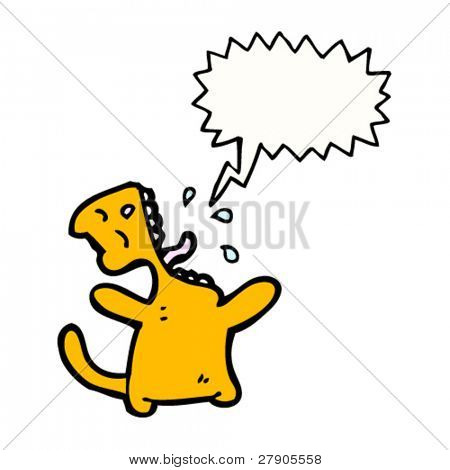 cartoon cat singing