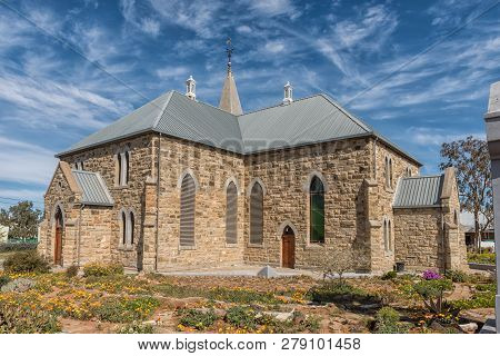 Williston, South Africa, August 31, 2018: The Dutch Reformed Church In Williston In The Northern Cap