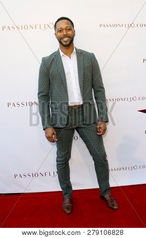 Thomas Hobson attends the premiere for