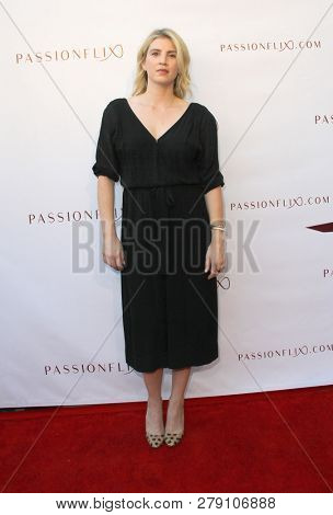 Emily Peck attends the premiere for