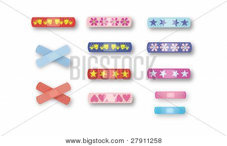 Colorful Kids Bandaids