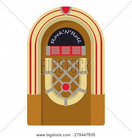 Jukebox Icon. Cartoon Illustration Of Jukebox Icon For Web