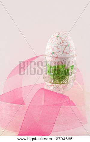 Hand Decorated Easter Egg I