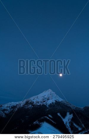 Velky Rozsutec 1609.7 M (5281.17 Ft ) Is A Mountain Situated In The Mala Fatra Mountain Range In The