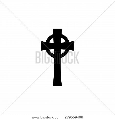 Religion Symbol, Celtic Cross Icon. Element Of Religion Symbol Illustration. Signs And Symbols Icon