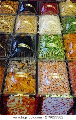 Oriental Sweets In The Range Of The Store.