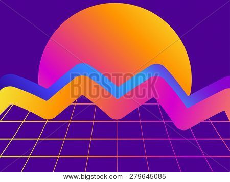 Liquid Wave, Violet Vector & Photo (Free Trial) | Bigstock