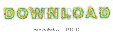 Floral Text. Download