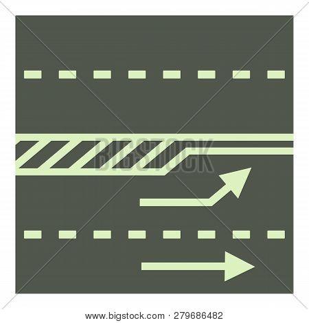Autobahn Icon. Cartoon Illustration Of Autobahn Icon For Web