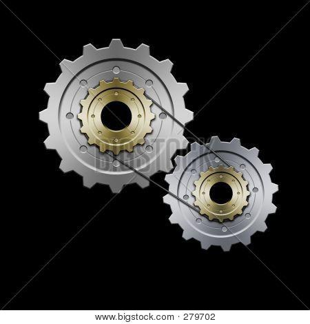 Gears (grey)