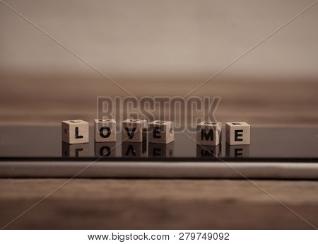 Conceptual Image Of Mobile Love Text Messaging For Valentines Day And Online Connections Technology