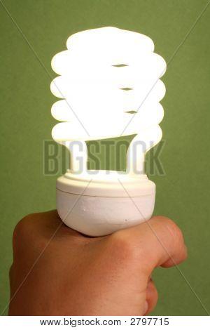 Low Energy Light Bulb.
