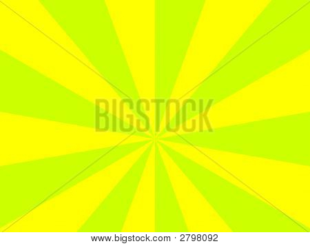 Green And Yellow Striped Background
