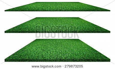 Grass Texture Grass Background. Grass Isolated On White Background  For Golf Course, Soccer Field Or