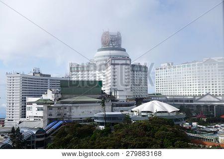 Genting Highland, Malaysia - Dec 03, 2018 : View Of Resort World Genting At Genting Highlands, Malay