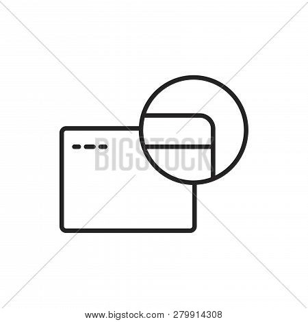 Credit Card Vector Icon On White Background. Credit Card Icon In Modern Design Style. Credit Card Ve