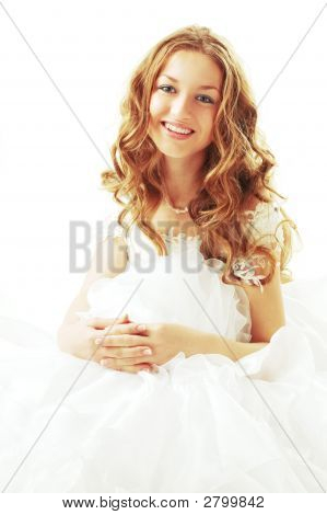 Smiling Beauty Bride