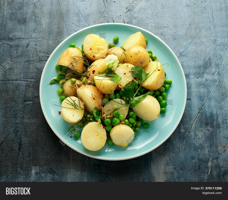 Hot Potato Salad With Dijon Mustard