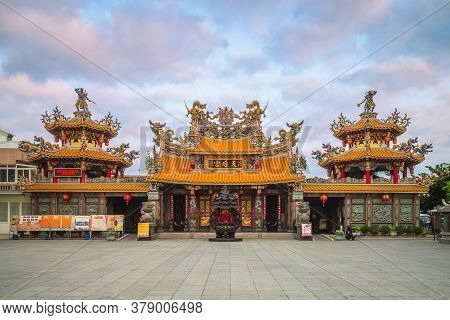 April 21, 2020: Taitung Tianhau Mazu Temple Located In Taitung City, Taiwan, Is The Only Officially