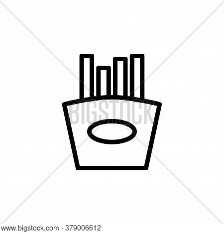 Illustration Vector Graphic Of French Fries Icon Template