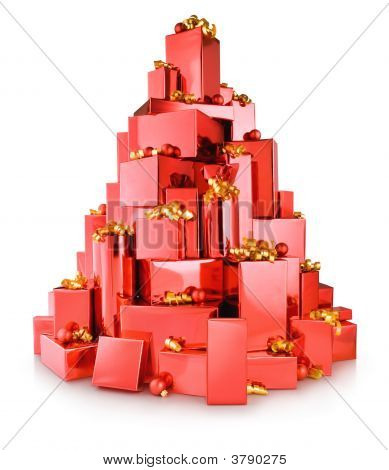 Red Boxes Tree