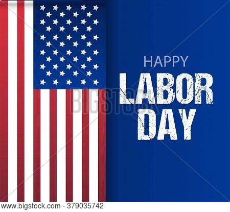 Happy Labor Day Banner. Design Template. Labor Day Sale Promotion Advertising Banner Template Decor