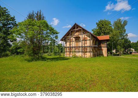 Image Of Abandoned Old House In The Countryside