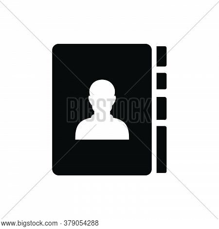 Contact Book Icon Isolated On White Background. Contact Book Icon Trendy And Modern Phone Book Symbo
