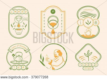 Chinese Tea With Classic Badge Style With Buddhist Monk , Ancient Jar,organic Tea,hot Tea And Field