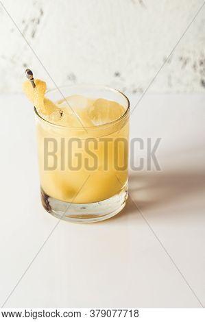 Glass Of Penicillin Cocktail