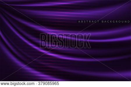 Dynamic Silk Textured Background Design. Abstract Luxury Background Design. Vector Graphic Illustrat