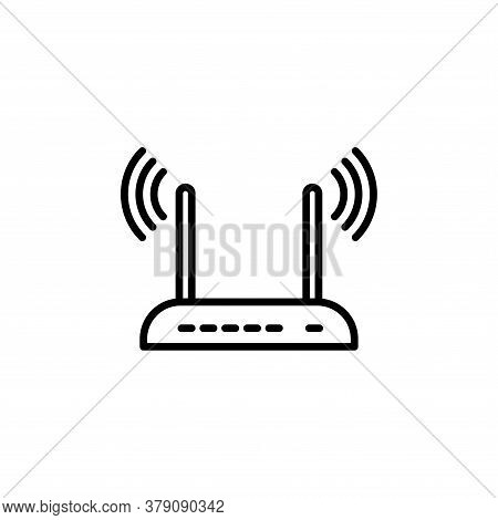 Illustration Vector Graphic Of Router Icon Template