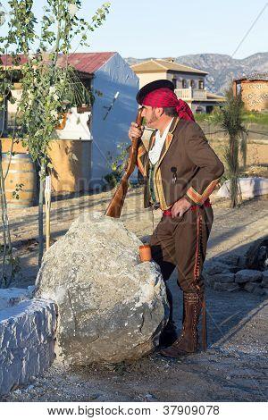 Bandit Posing