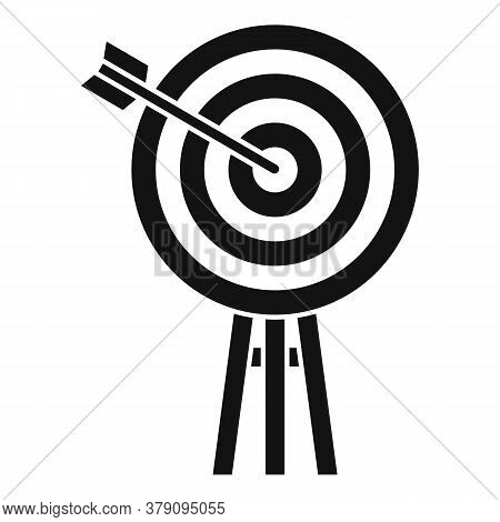 Innovation Target Icon. Simple Illustration Of Innovation Target Vector Icon For Web Design Isolated
