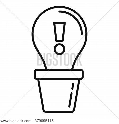 Innovation Icon. Outline Innovation Vector Icon For Web Design Isolated On White Background