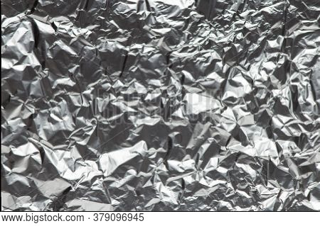 Aluminium Foil Texture Background Abstract Metal Texture