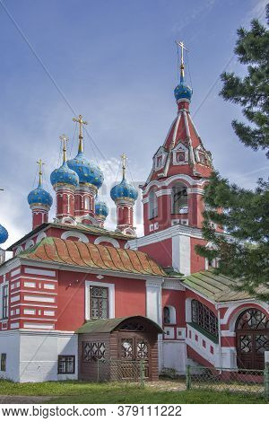 Church Of Tsarevich Dmitry On The Blood In Uglich