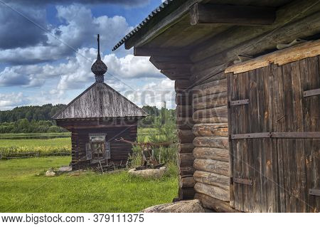 Uchma, Yaroslavl Oblast, - 26 July 2020, Uchemskiy Museum Of The Cassian Desert And The Fate Of The