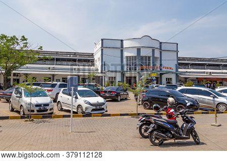 Semarang, Indonesia - October, 31, 2017 Station Poncol In Semarang West Java Indonesia